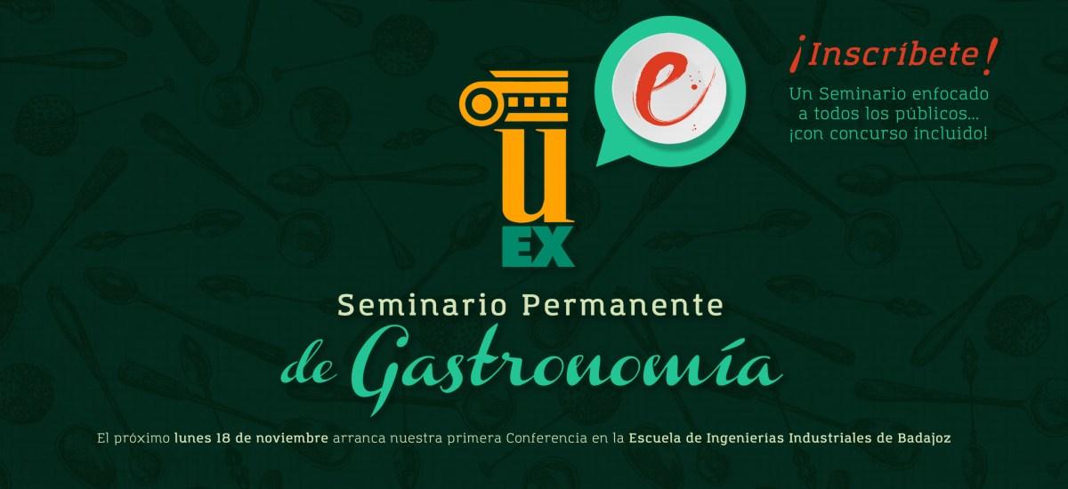 ¡Comienza el Seminario Permanente de Gastronomía!