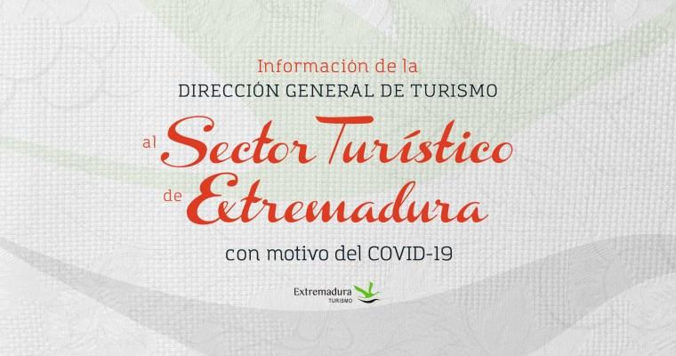 DGT INFORMA AL SECTOR TURÍSTICO DE EXTREMADURA