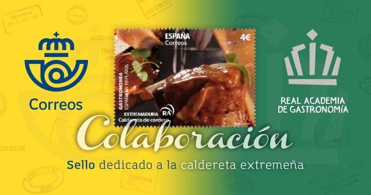 Colaboración CORREOS-RAG: sello dedicado a la caldereta extremeña