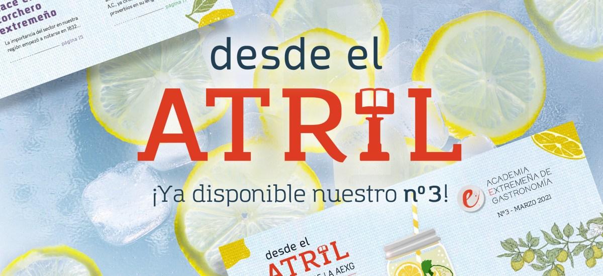 DESDE EL ATRIL: ¡YA DISPONIBLE EL Nº3!