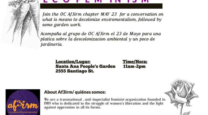 Orange County | Gardening & Ecofeminism Mixer
