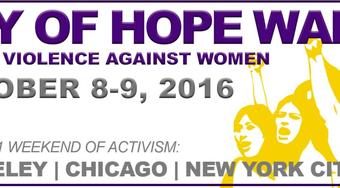 Join the Ray of Hope Walk in Berkeley, Chicago and New York!