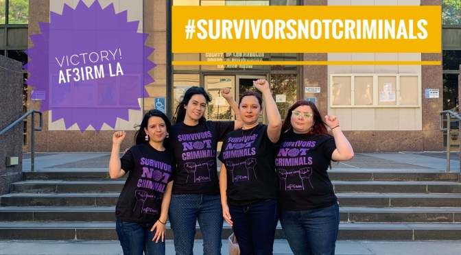SURVIVORS NOT CRIMINALS: OVERHAUL OF MASSAGE ESTABLISHMENT POLICIES ARE A MONUMENTAL TURNING POINT IN ANTI-SEX TRAFFICKING EFFORTS, ACCORDING TO FEMINIST ACTIVISTS