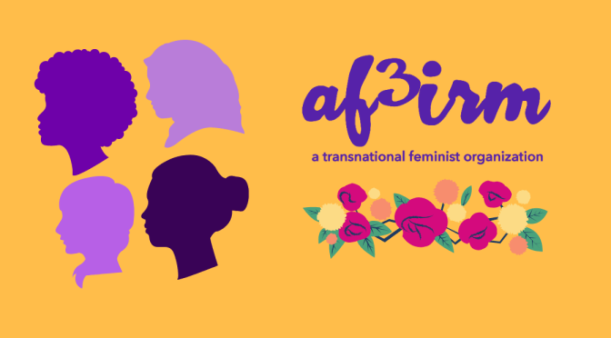 AF3IRM Schools of Youth Activism and School of Women's Activism Go Virtual