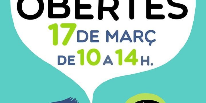 Nova Jornada de Portes Obertes, dissabte 17M de 10 a 14h