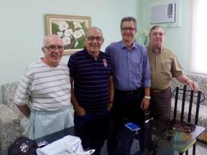 Vice-Presidente da AAFBB/RJ visita AFABB-ES