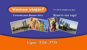 Vamos Viajar? Excursão para Buenos Aires