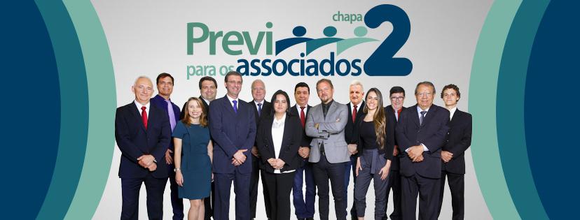 Chapa 2 vence as eleições PREVI 2018