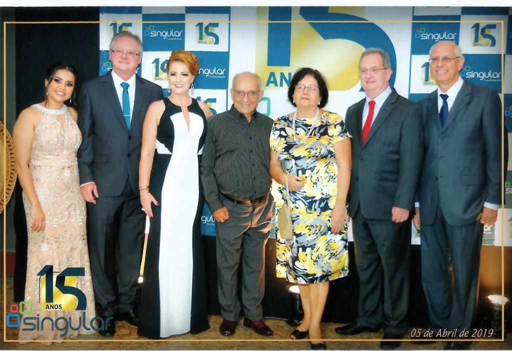 AFABB-ES participa de comemoração dos 15 anos da Singular