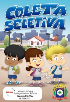 gibi hq quadrinhos manual coleta seletiva ecologia prefeitura governo manuel ribas jlima 1