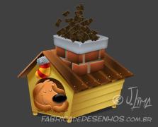 merry-christmas-good-card-parties-gift-mascote-mascot-design-character-personagem-dog-cachorro-cao-natal-presente-cartao-desenho-2016-illustration-casinha-house