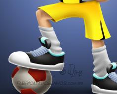 menino futsal futebol soccer boy face rosto mascote mascot design personagem character jlima desenho art concept ilustration ilustracao bola ball