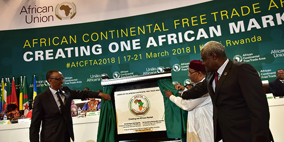 African free-trade agreement will accelerate long-term growth and boost exports