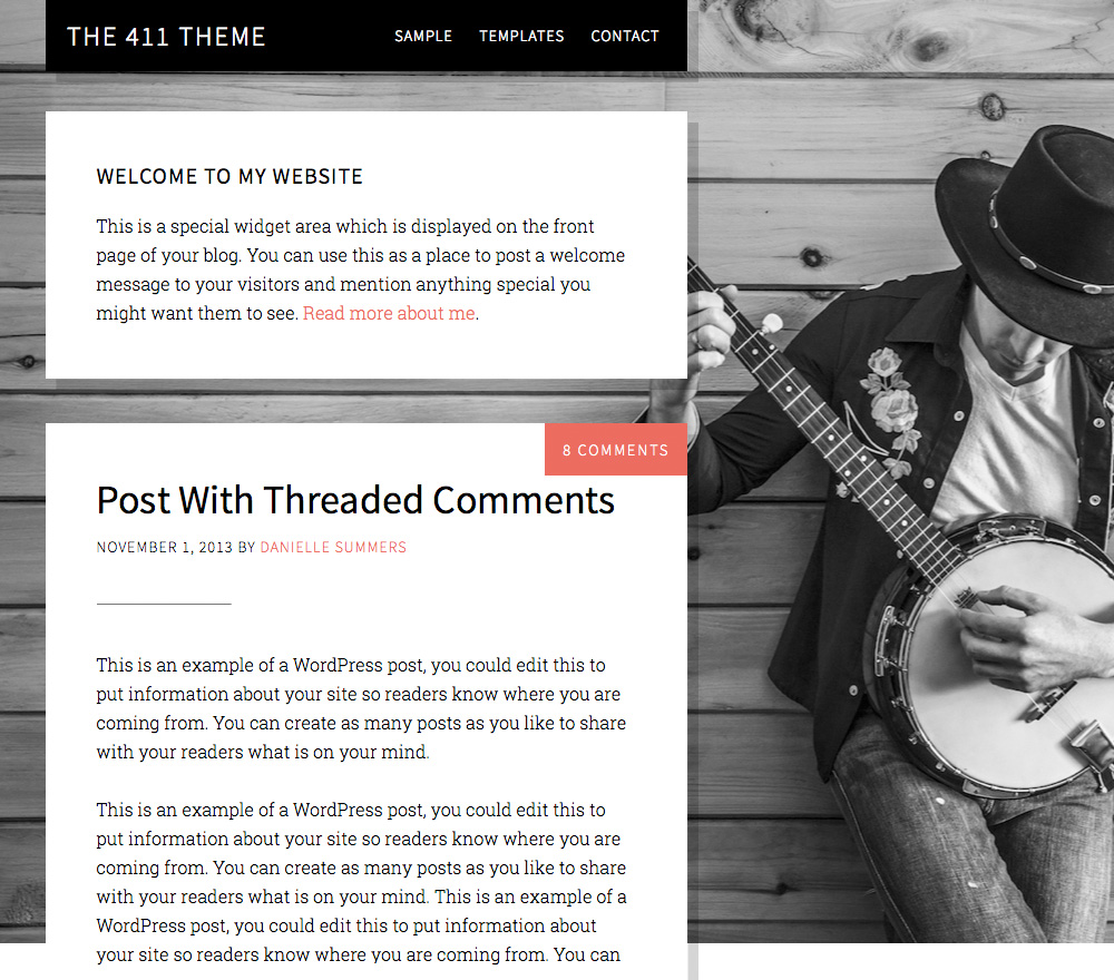The 411 Pro Theme