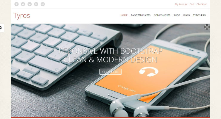 Tyros WordPress Theme