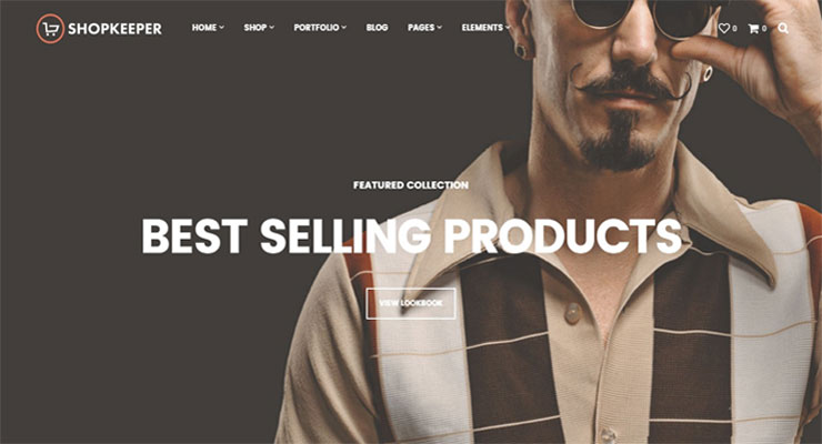 Theme WordPress eCommerce Shopkeeper