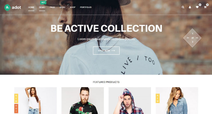 theme-wordpress-ecommerce-adot