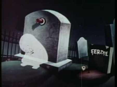 casper in cemetery sad