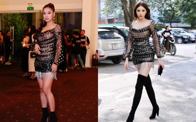 Diện cùng 1 thiết kế váy, Hoàng Yến Chibi sẽ ngang tài ngang sức Kỳ Duyên nếu không chọn kiểu giày này - Ảnh 4.