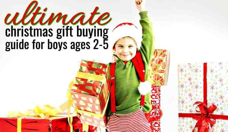 50 Great Ideas for What to Buy a 3-Year-Old Boy for Christmas
