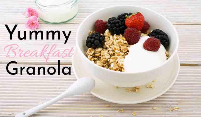 Yummy Breakfast Granola