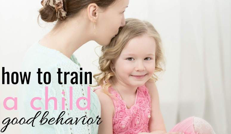How to Teach a Child Good Behavior – Using the Three P's