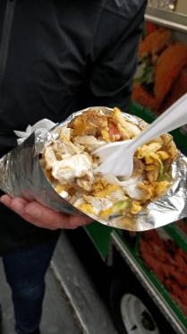 Chicken Gyro (street food)