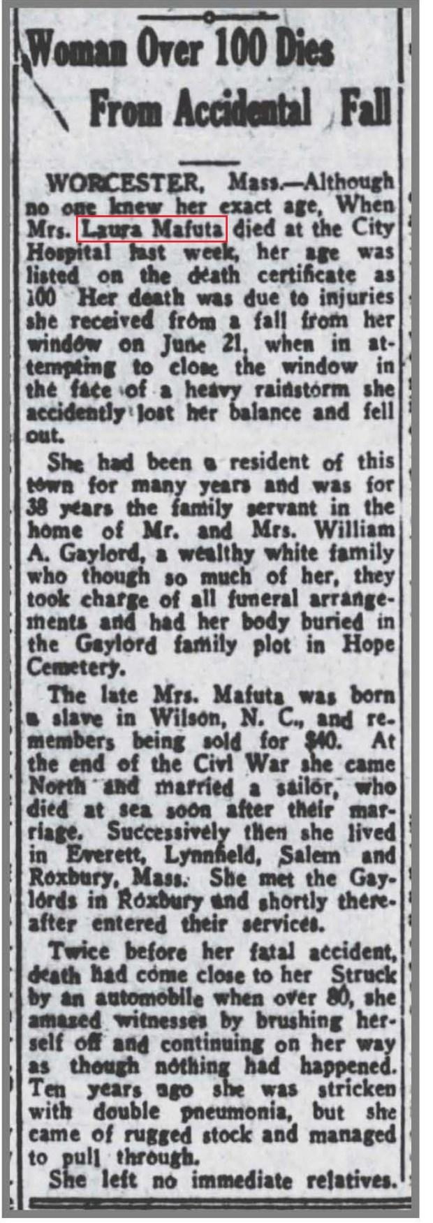 NY_Age_7_22_1933_Mrs_Mafuta_dies