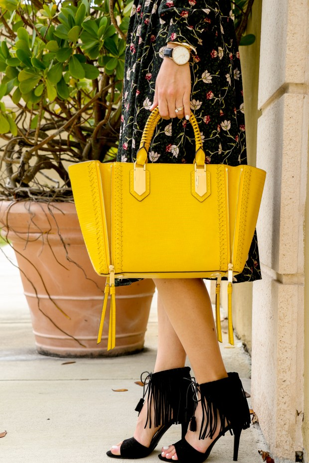 Henri Bendel Yellow -12