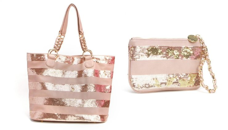 Deux Lux Lucky Tote and Wristlet