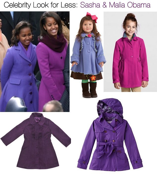 Look for Less: Sasha and Malia Obama | AFancygirlmust.com