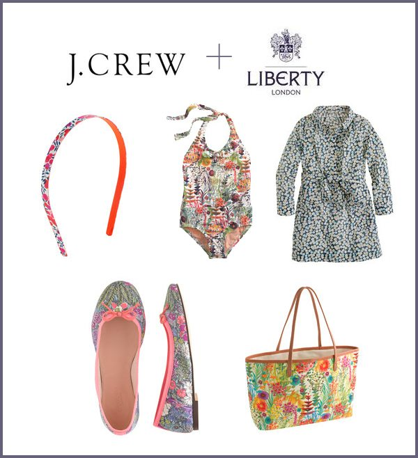 J.Crew and Liberty of London