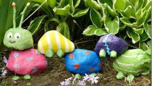 DIY garden art project - The Harried Mom