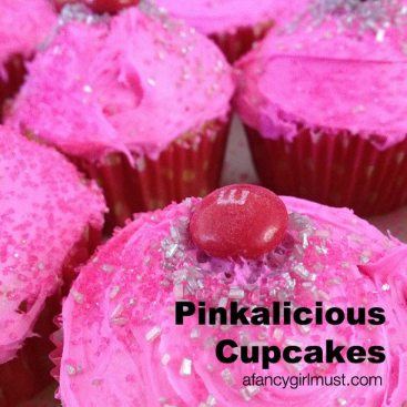 Pinkalicious Cupcakes | AFancyGirlMust.com