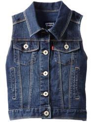 Back to School Fashion: Levi's Denim Vest