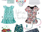 Feather Print Trend for Summer