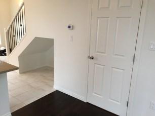 1/2 Bath, flex space and flooring