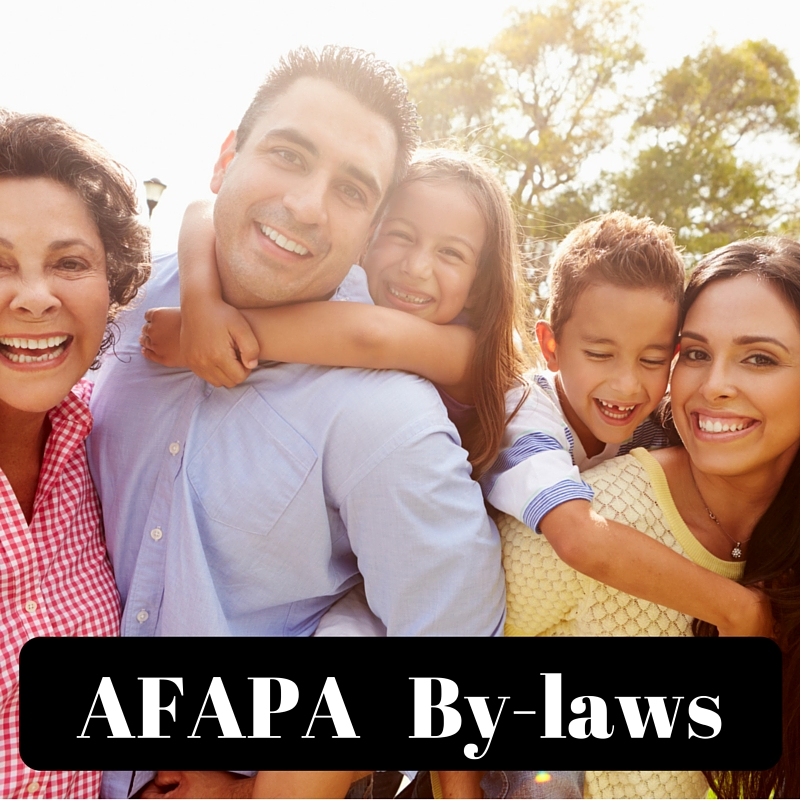 AFAPA By-laws