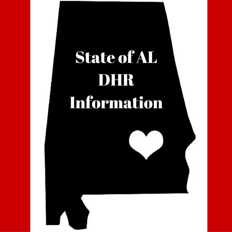 State of AL DHR Information