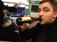 Trains + Beer = good idea.