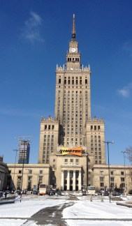 Warsaw palace of culture - Stalin's unwanted gift to Poland