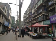 An ordinary residential street in the Muslim Quarter