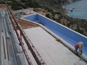 Casa Ferran vista de la piscina