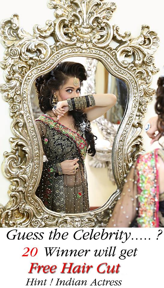 Kashees Artist Beautiful Hairstyle Salon Makeup On Eid