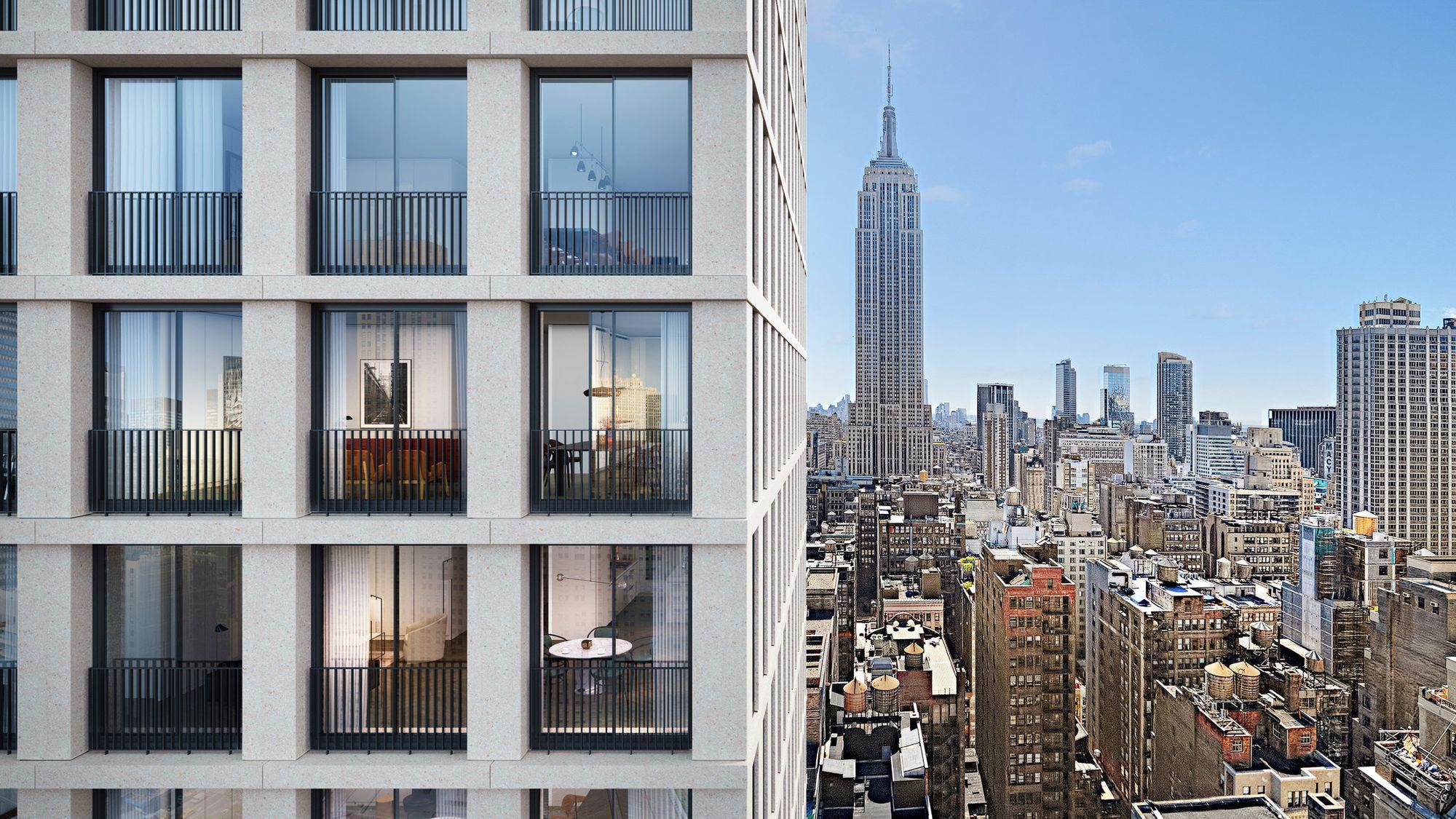 Madison Square West Floor Plans
