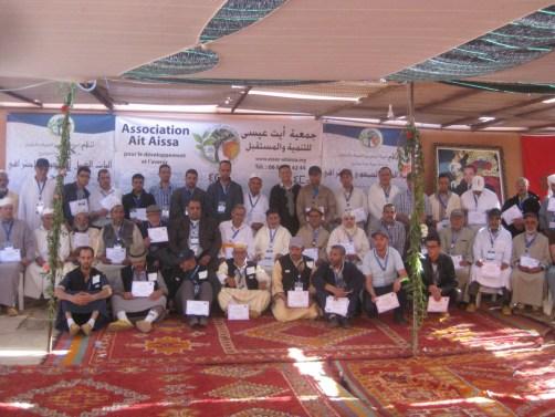 IMG_2452 جماعة النحيت : جمعية آيت عيسى للتنمية و المستقبل تنظم يوما دراسيا لفائدة جمعيات النحيت إداوزدوت