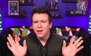 Phillip DeFranco on set