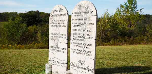 Ten Commandments Hill