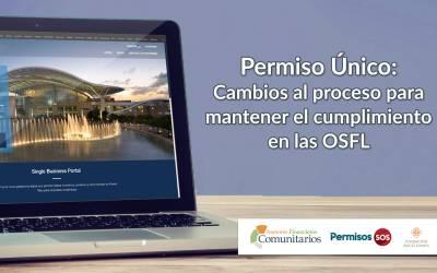 Permiso Único: Cambios al proceso para mantener el cumplimiento en las OSFL