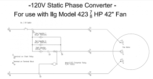 Static Phase Converter Wiring Diagram 110v Or 120v Capacitor Free Download • Oasisdlco